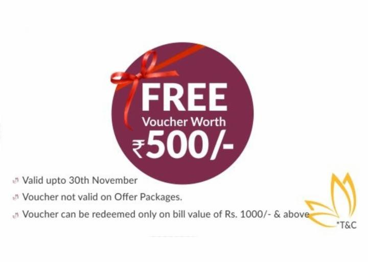 Get 500 Rs Free Voucher - Hiwaga Salon