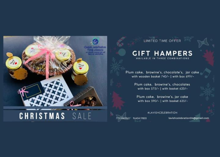 Christmas gift hampers sale