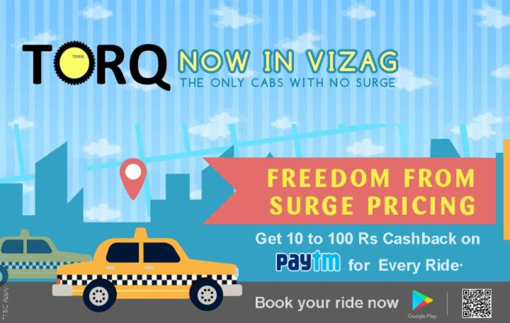 TORQ - Book your cab with NO Surge Price