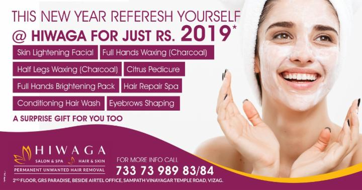 New Year Special Offers by Hiwaga Salon