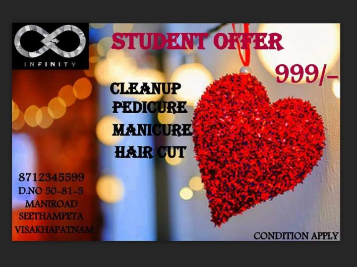 Exclusive Student Offer at Infinity Salon