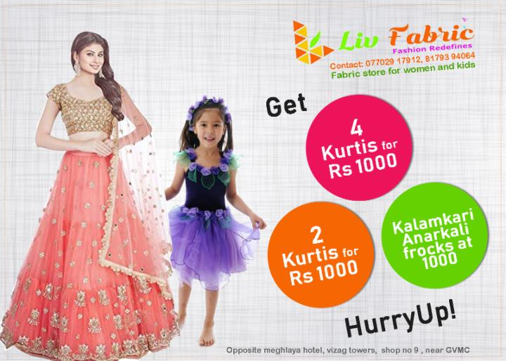 Exciting Offers at Liv Fabric Store
