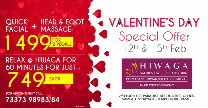 Valentines Day Special Offer - Hiwaga Salon