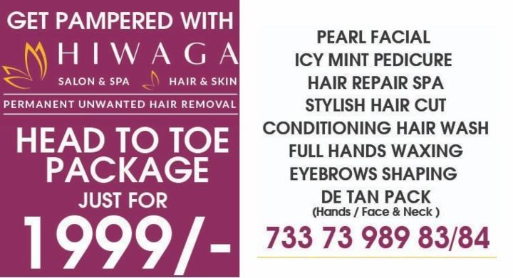 Head to Toe Package at Just Rs 1999 - Hiwaga Salon
