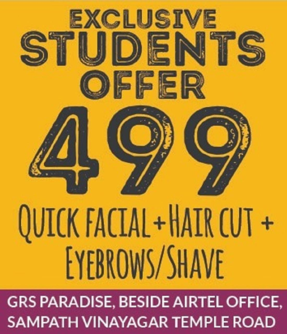 Exclusive Student Offer at Just 499 - Hiwaga Salon