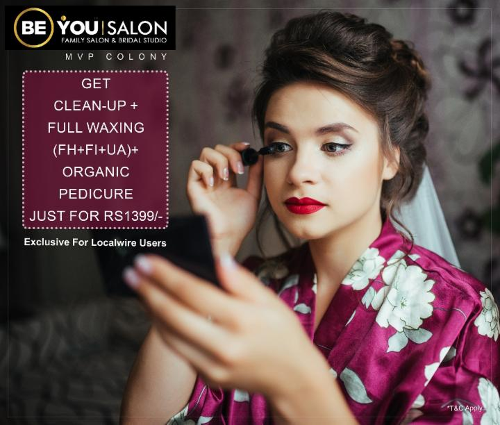 Special Combo Offer at Be You Salon MVP Colony