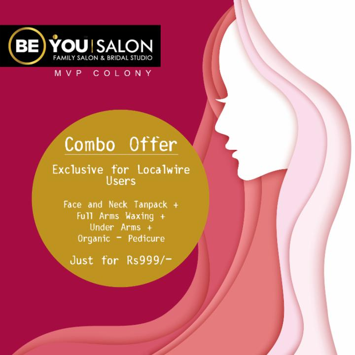 Combo Offer Just for Rs999 at Be You Salon