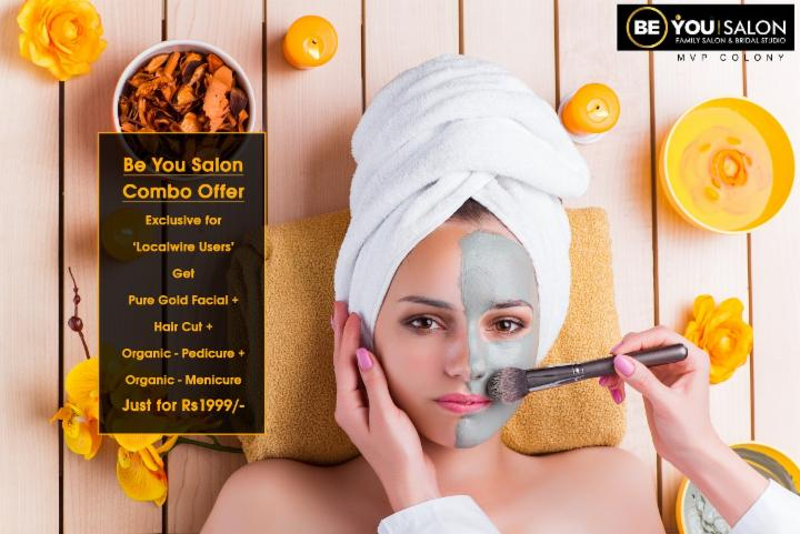 Gold Facial Combo Offer at Be You Salon MVP Colony
