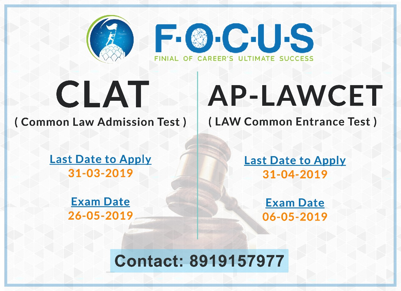 Get 20% discount on CLAT and AP-LAWCET coaching
