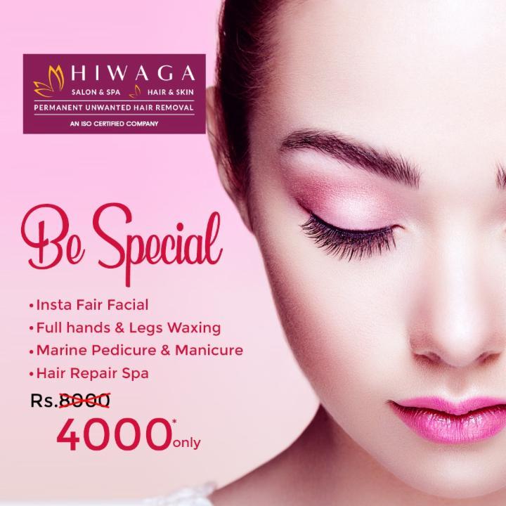 Be Special with Insta Fair Facial etc. @ Hiwaga