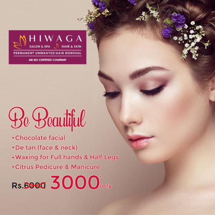 Be Beautiful with Chocolate Facial etc. @ Hiwaga