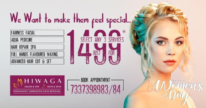 Select any 3 services just for 1499 at Hiwaga