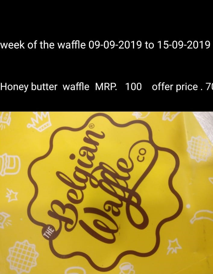 Waffle of the week | Honey Butter Waffle