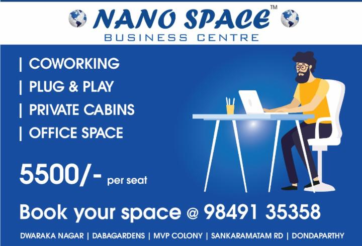 Furnished Co-working Spaces, Plug and Play Offices