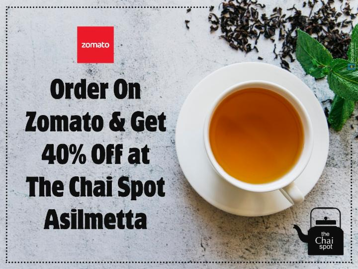 Get 40% Off at The Chai Spot