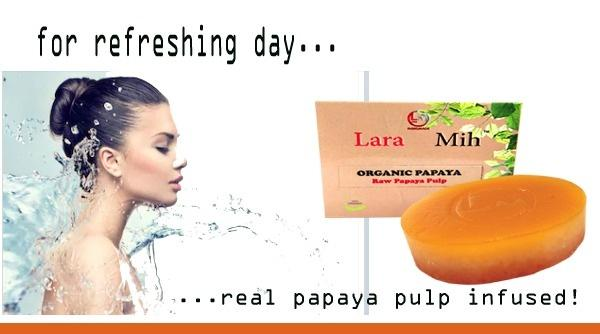 Handmade Papaya Soap - Buy one and get one free
