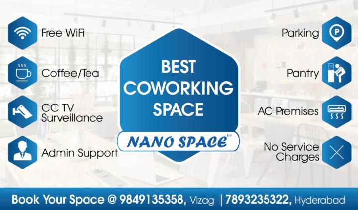 Best Co-working Space | Affordable Prices in Vizag