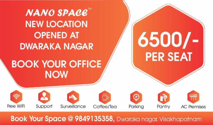 New Coworking Space at Dwaraka Nagar | Nano Space