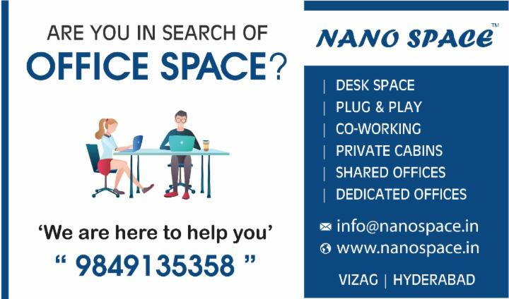 NANO SPACE Coworking | Plug and Play Office Space