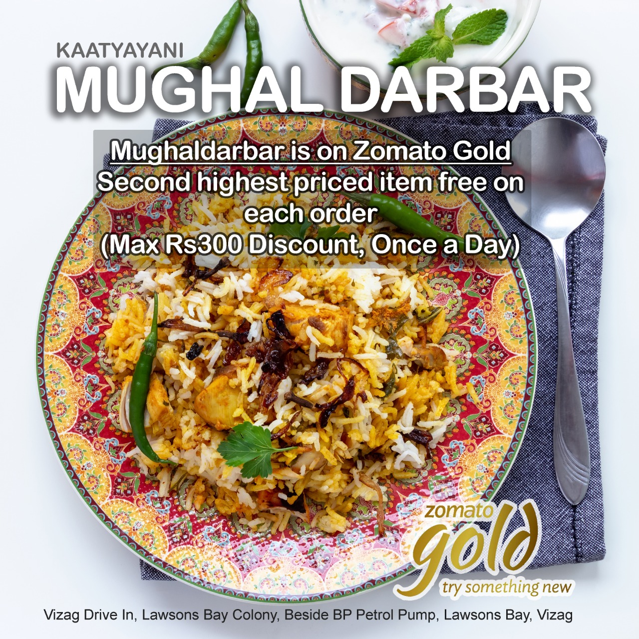 Get second item for free | Mughaldarbar on Zomato