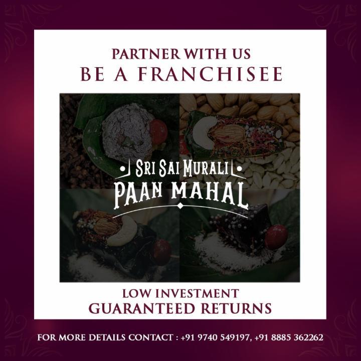 Franchise Proposal for SSM Paan Mahal