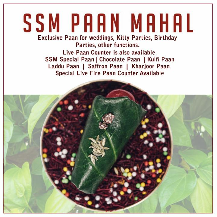 Get Exclusive Paan for Weddings and Parties
