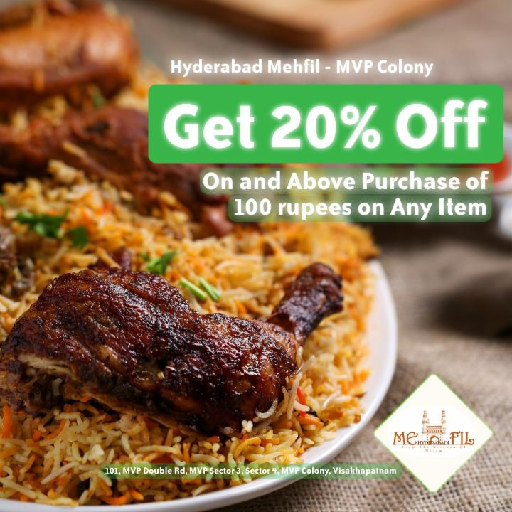 Get 20% Off on Purchase of 100 rupees and above