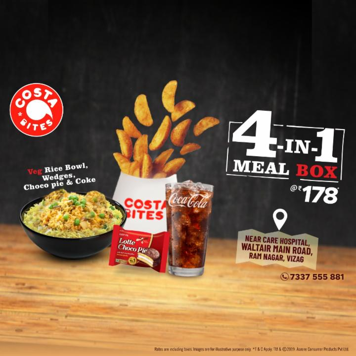 Get 4 In One Meal Box at Just 178 Rupees Only