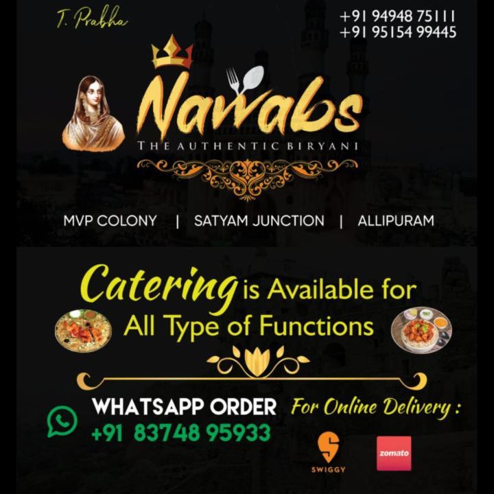 Get Authentic Nawabs Biryani Now in Vizag