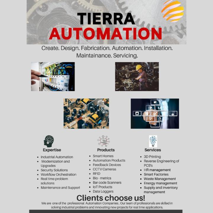 Create Design Fabricate at Tierra Automation