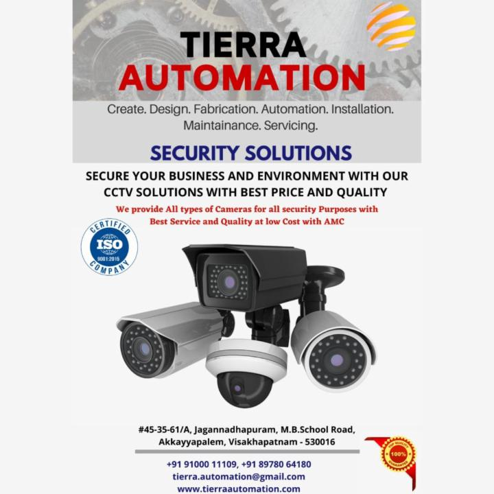 CCTV Security Solutions for Business and Surroundings Security