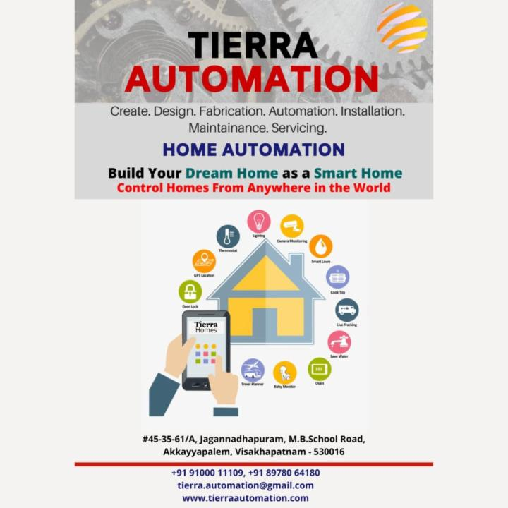 Tierra Smart Homes For Easy Controlling