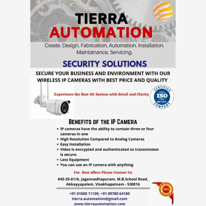 IP Cameras for better Security by Tierra