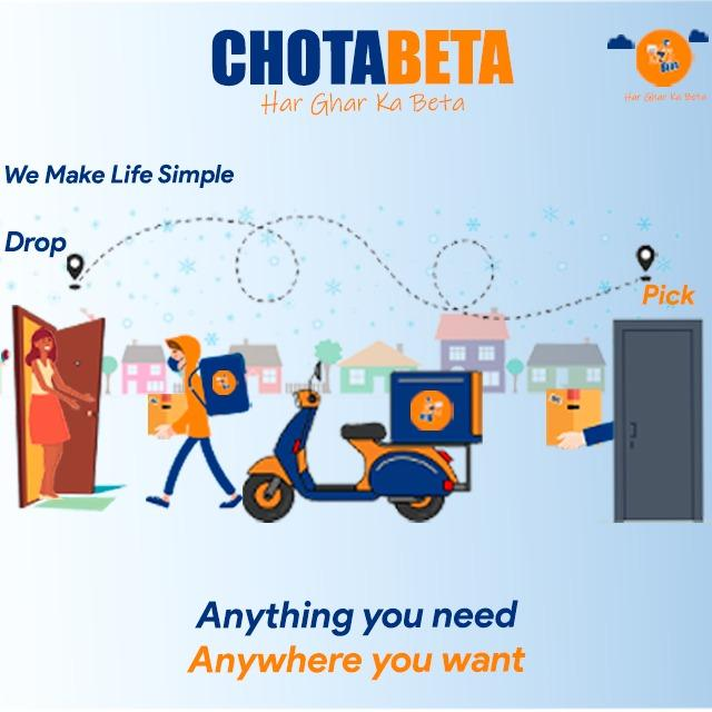 Get First Delivery free on all services   Chotabeta