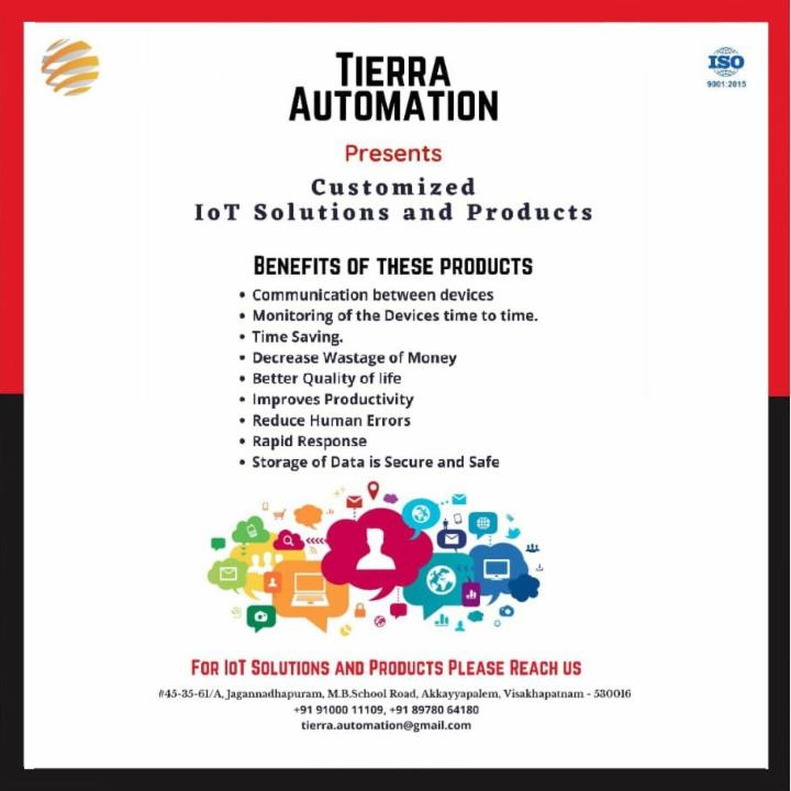 Customized IoT Solutions and Products Tierra