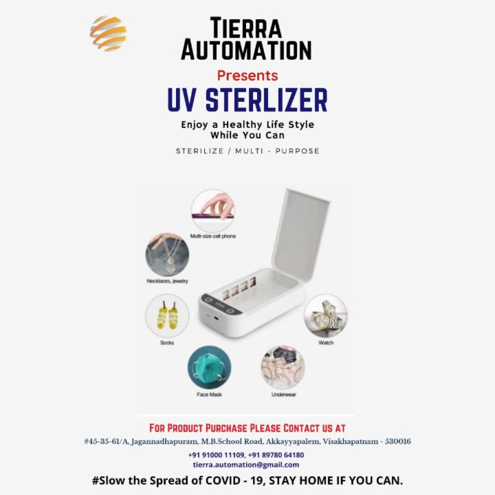 UV Sterilizer for Phones | Watches | Earphones | Rings and Smaller gadgets