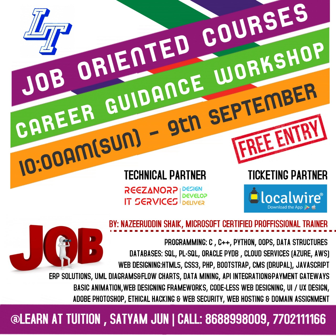 CAREER GUIDANCE WORKSHOP on JOB ORIENTED COURSES ~ Localwire